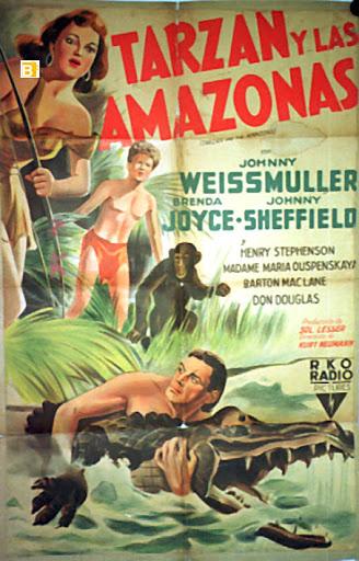 Tarzán y las amazonas