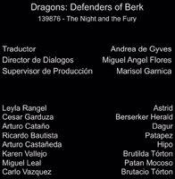 Doblaje Latino de Dragones Defensores de Berk (Capitulo 3)
