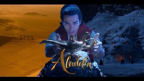 ALADDIN 🧞 (2019) Teaser Oficial Audio Latino Disney
