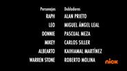 Creditos de doblaje Rise of the TMNT (Episodio 10, 1)