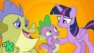 Spike descubre quién es su verdadera familia My Little Pony Discovery Kids
