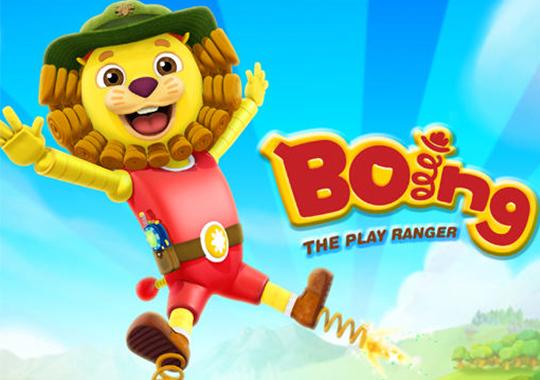 Boing, el explorador divertido