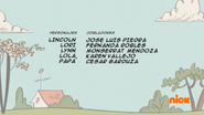 Creditos de doblaje The Loud House ESLA (S322-1)