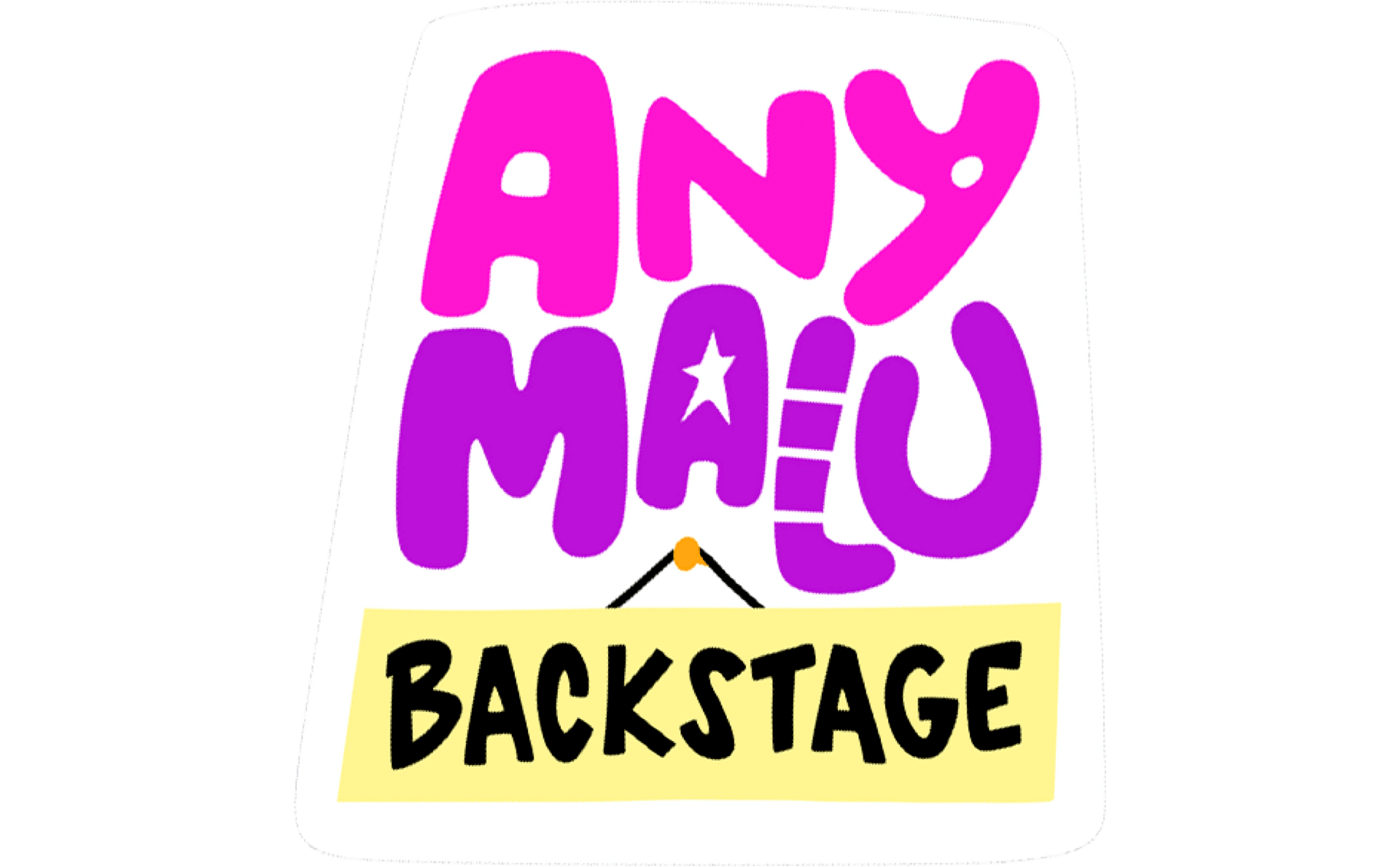 Any Malu Backstage
