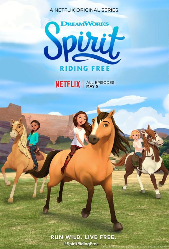 Spirit: Cabalgando libre