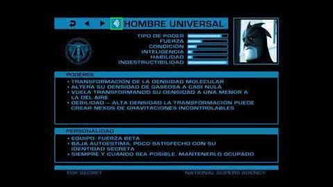 ARCHIVOS SECRETOS DE LA ANS Hombre Universal