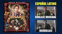Jumanji -1995- Doblaje Original y Redoblaje - Español Latino - Comparación y Muestra