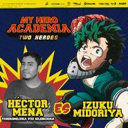 My Hero Academia - Dos Héroes (Actores presentados 01)