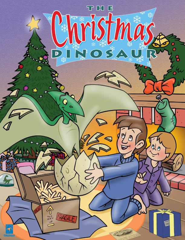 El dinosaurio de Navidad