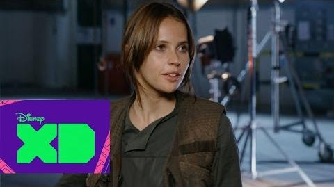 "Felicity Jones, la protagonista de ""Rogue One"" - DXD Xtra"