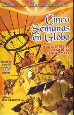 Cinco semanas en globo (1975)