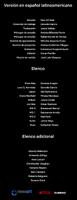 Créditos doblaje Resident Evil La tiniebla infinita (ep. 3)
