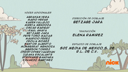 Creditos de doblaje The Loud House ESLA (S222-2)