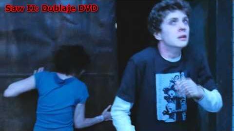 Saw 2 comparación de doblaje TV y DVD Adam y Gordon