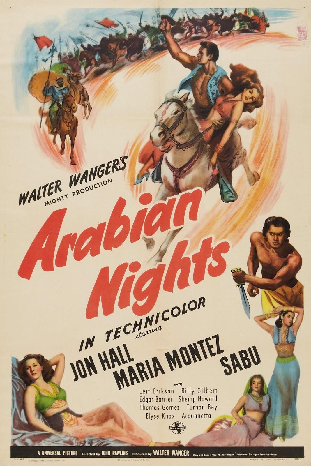 Las mil y una noches (1942)