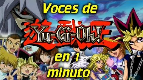 Voces de Yu Gi Oh! en 1 minuto