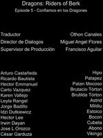 Doblaje Latino de Dragones Jinetes de Berk (Capitulo 5)