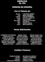 Doblaje Latino de Sherlock (3ª Temp. - Cap. 2)