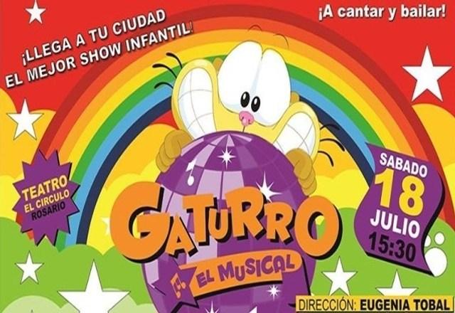 Gaturro, el musical: En vivo