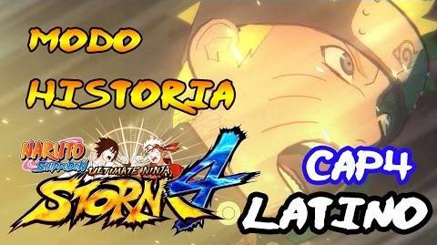 Obito y Kakashi Naruto Shippuden- Ultimate Ninja Storm 4 Modo Historia Latino Español Guia