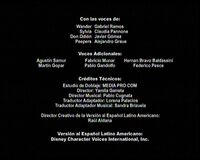 Créditos de doblaje de Galaxia Wander (Temporada 2) (TV) (DXD)