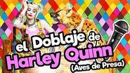 El Doblaje latino de HARLEY QUINN AVES DE PRESA Memo Aponte