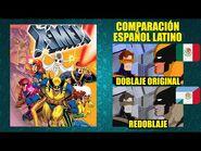 X-Men -1992- Comparación del Doblaje Latino Original y Redoblaje - Español Latino