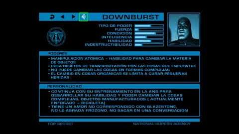 ARCHIVOS SECRETOS DE LA ANS Downburst