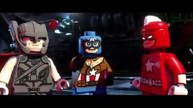 Lego Marvel Superheroes 2 - Capitán América, Thor y She Hulk - Español Latino