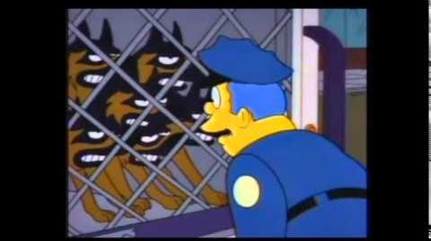 Simpsons, suelten a los perros! xD