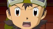 Takuya crea un plan para destruir la fabrica pero JP se niega a cooperar - Latino