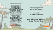 Creditos de doblaje The Loud House ESLA (S321-2)