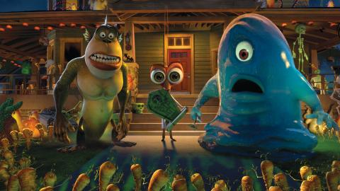 Monstruos vs. Aliens: Noche de las zanahorias vivientes