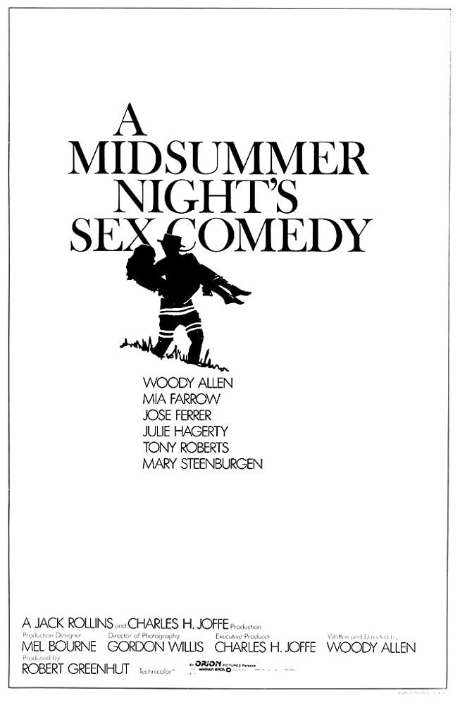 Comedia sexual en una noche de verano