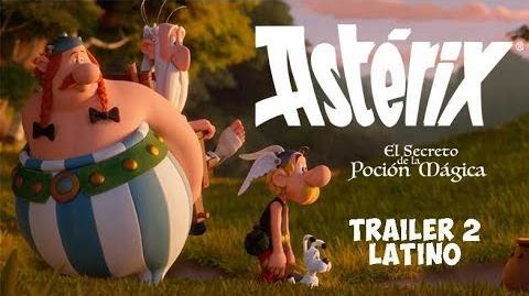 Astérix El secreto de la poción mágica - trailer 2 - Doblaje Latino