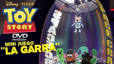 Toy Story - Mini Juego Del DVD ''La Garra'' (2005)