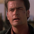 Charlie Sheen in Terminal Velocity