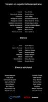 Créditos doblaje Resident Evil La tiniebla infinita (ep. 1)