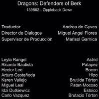 Doblaje Latino de Dragones Defensores de Berk (Capitulo 9)