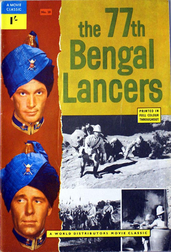 Los lanceros de Bengala