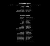 Tiger & Bunny creditos 4