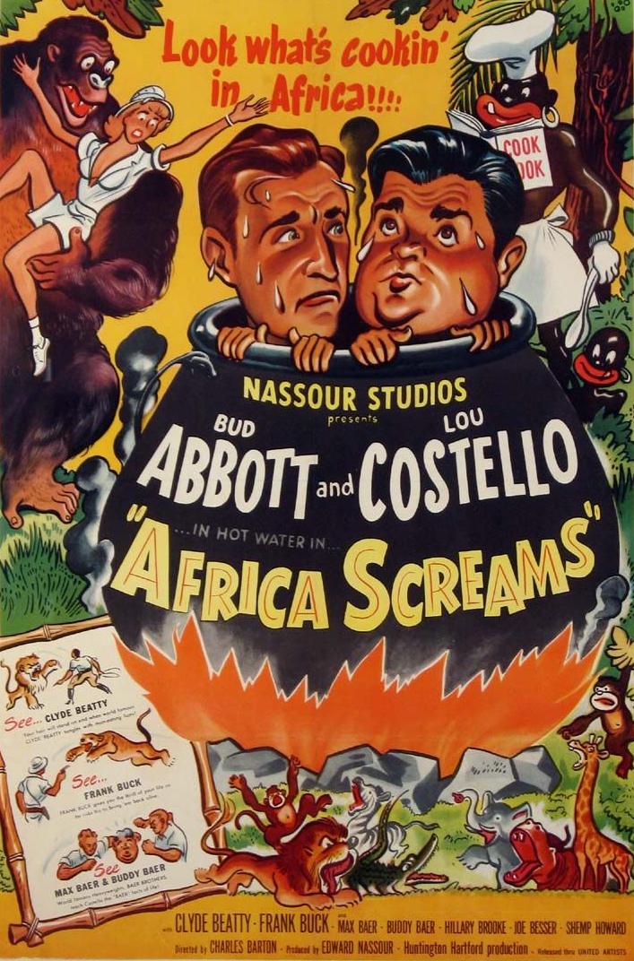 Abbott y Costello: África grita