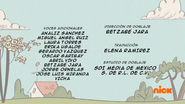 Creditos de doblaje The Loud House ESLA (S315-2)