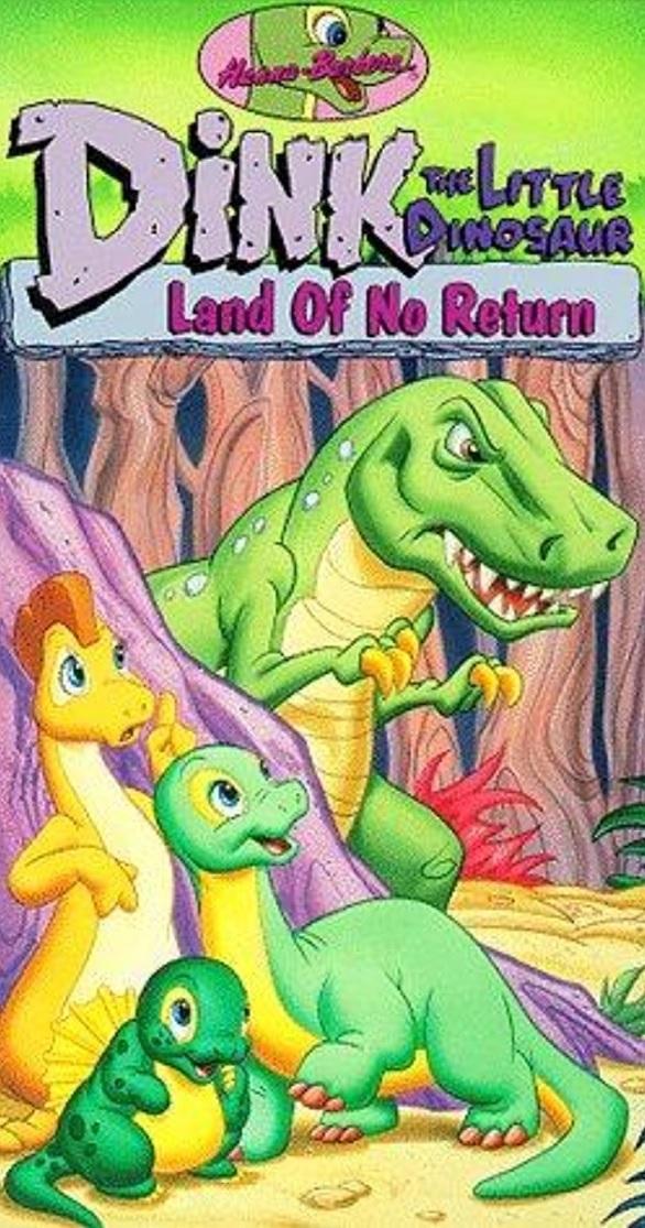 Dink, el pequeño dinosaurio