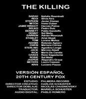 Doblaje Latino de The Killing (1ra Temp. - Cap. 1)