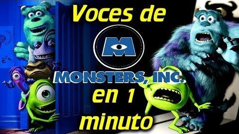 Voces de MONSTERS, INC en 1 minuto- -18