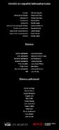 Créditos doblaje Selena La serie (temp. 1 ep. 9)