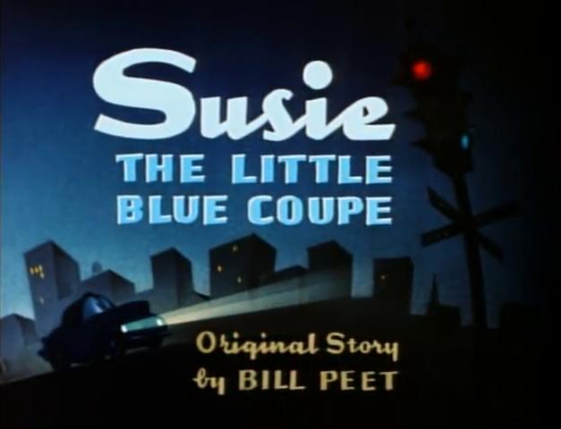 Susie, el pequeño cupé azul