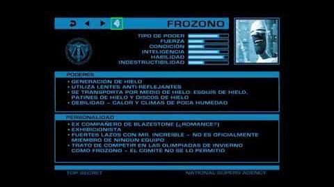 ARCHIVOS SECRETOS DE LA ANS Frozono