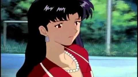 Evangelion - Oye Kaji, ¿Crees que he cambiado?; ¡Eres más hermosa! (Shin Seiki)